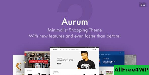 Nulled Aurum v3.7 – Minimalist Shopping Theme NULLED