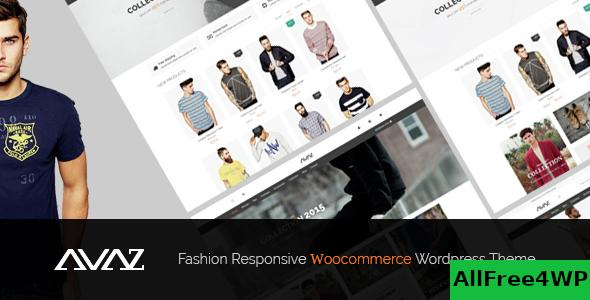 Nulled Avaz v2.4 – Fashion Responsive WooCommerce Theme NULLED