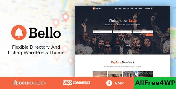 Nulled Bello v1.5.0 – Directory & Listing NULLED