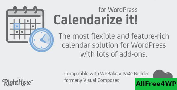 Calendarize it! for WordPress v4.9.9.97605