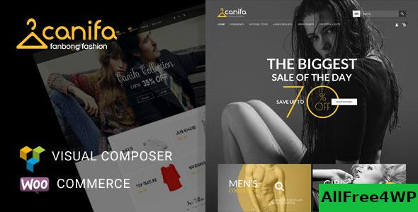 Nulled Canifa v2.6 – Fashion Responsive WooCommerce Theme NULLED