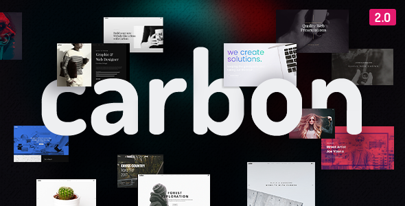 Nulled Carbon v2.7 – Clean Minimal Multipurpose Theme NULLED