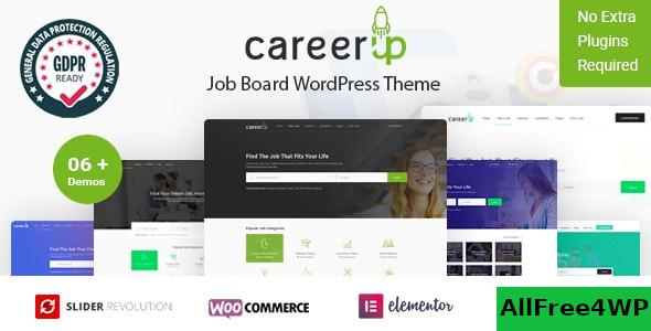 Nulled CareerUp v2.3.6 – Job Board WordPress Theme NULLED