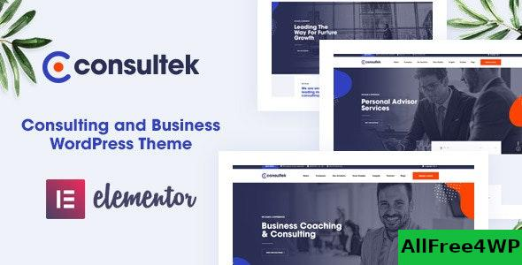 Nulled Consultek v1.0.4 – Consulting Business WordPress Theme NULLED