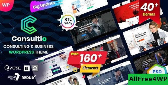 Nulled Consultio v1.2.1 – Corporate Consulting NULLED