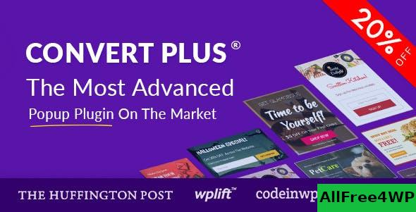ConvertPlus v3.5.12 - Popup Plugin For WordPress