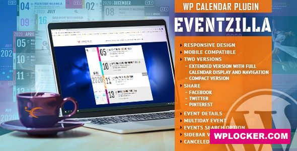 EventZilla v1.2.1 - Event Calendar WordPress Plugin
