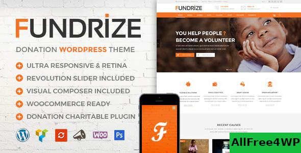 Nulled Fundrize v1.12 – Responsive Donation & Charity Theme NULLED