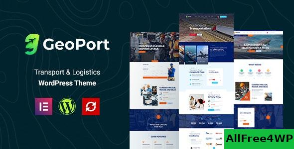 Nulled Geoport v1.0.1 – Transport & Logistics WordPress Theme NULLED