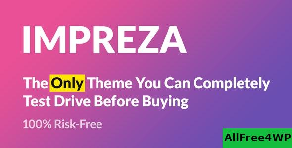 Nulled Impreza v7.8 – Retina Responsive WordPress Theme NULLED