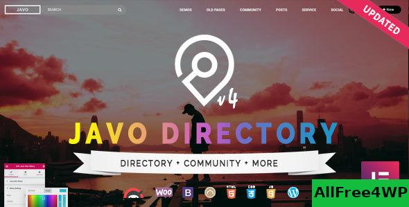 Nulled Javo Directory v4.1.7 – WordPress Theme NULLED