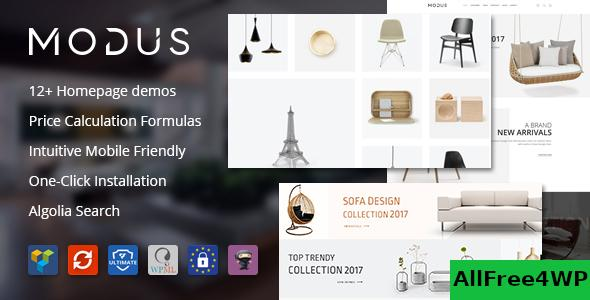 Nulled Modus v1.6.0 – Modern Furniture WooCommerce Theme NULLED