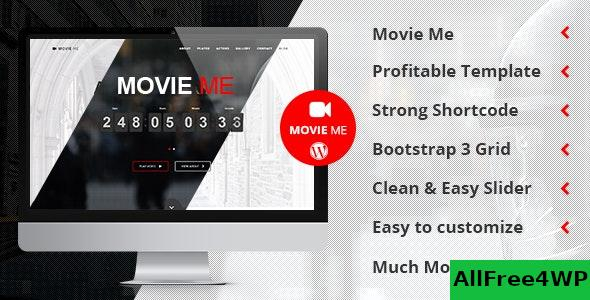 Nulled Movie Me v4.4 – One Page Responsive WordPress Theme NULLED