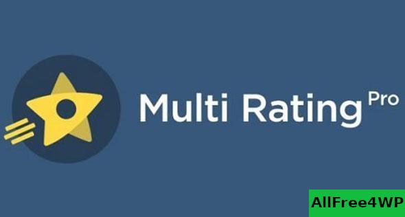 Multi Rating Pro v6.0.2 - WordPress Plugin