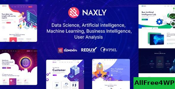Nulled Naxly v1.1 – Data Science & Analytics WordPress Theme NULLED