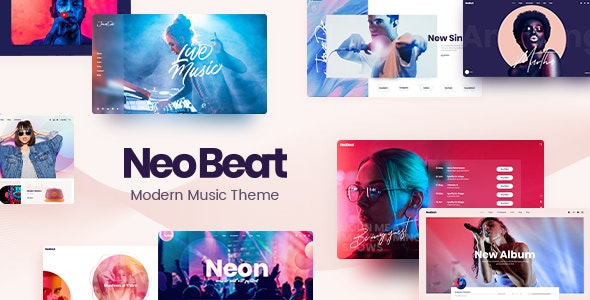 Nulled NeoBeat v1.0 – Music WordPress Theme NULLED