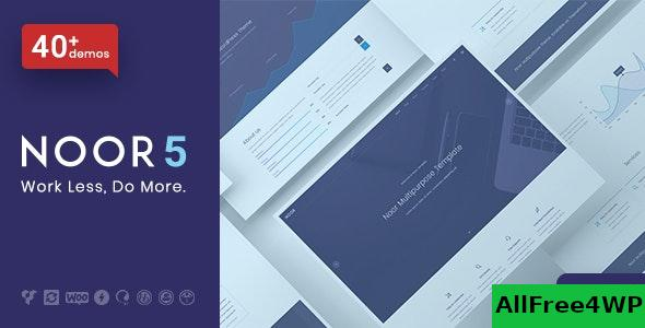 Nulled Noor v5.5.19 – Fully Customizable Creative AMP Theme NULLED