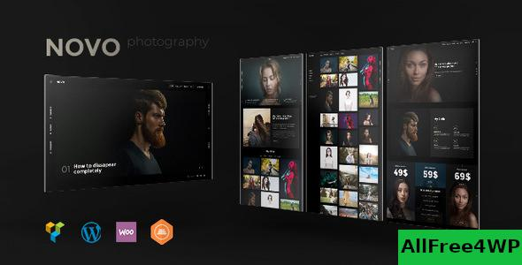 Nulled Novo v3.1.2 – Photography WordPress Theme NULLED