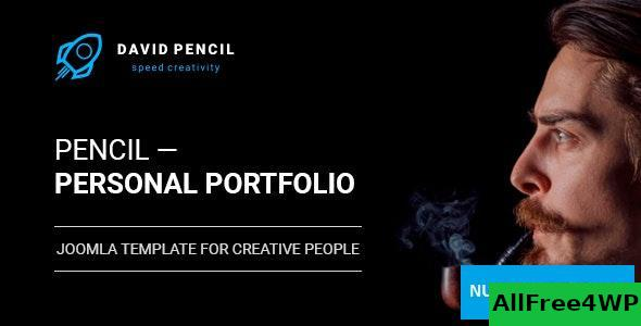 Pencil v1.0.1 – Personal Portfolio and One Page Resume, Responsive Joomla Template