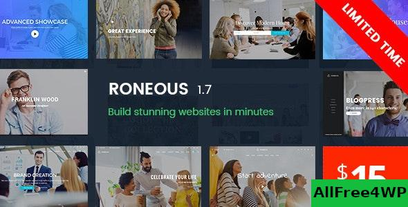 Nulled Roneous v1.8 – Creative Multi-Purpose WordPress Theme NULLED