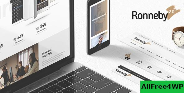 Nulled Ronneby v3.2.6 – High-Performance WordPress Theme NULLED