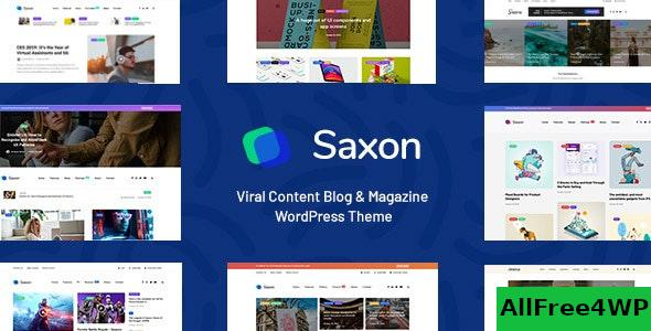 Nulled Saxon v1.8.0 – Viral Content Blog & Magazine Theme NULLED