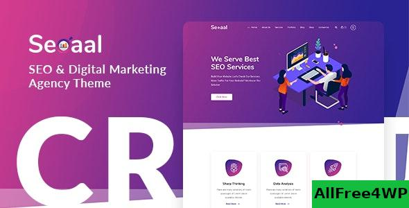 Nulled Seoaal v1.0.3 – SEO & Digital Marketing WordPress Theme NULLED