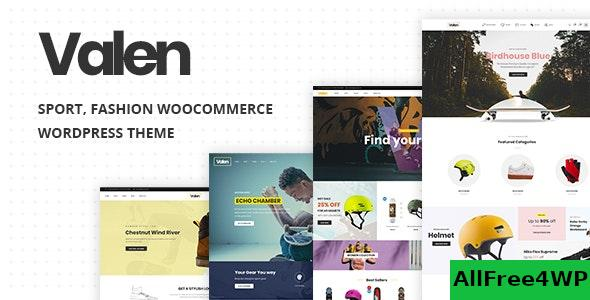 Nulled Valen v1.8 – Sport, Fashion WooCommerce WordPress Theme NULLED