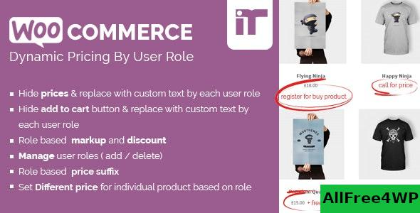 Woocommerce Dynamic Pricing By User Role v1.4