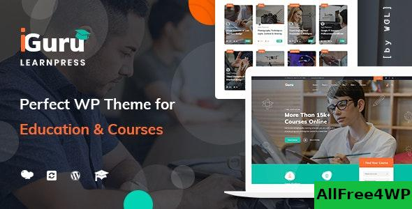 Nulled iGuru v1.0.9 – Education & Courses WordPress Theme NULLED