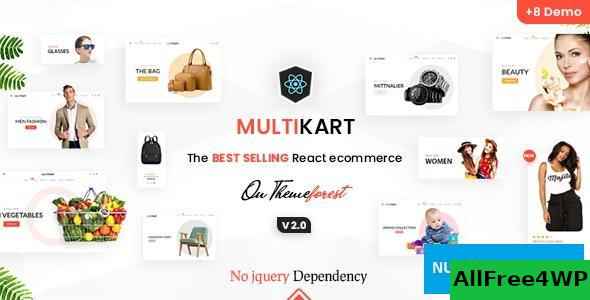 Multikart v3.2.1 – React eCommerce Template