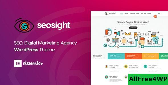 Nulled Seosight v4.7 – SEO Digital Marketing Agency Theme NULLED