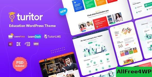 Nulled Turitor v1.2.3 – LMS & Education WordPress Theme NULLED