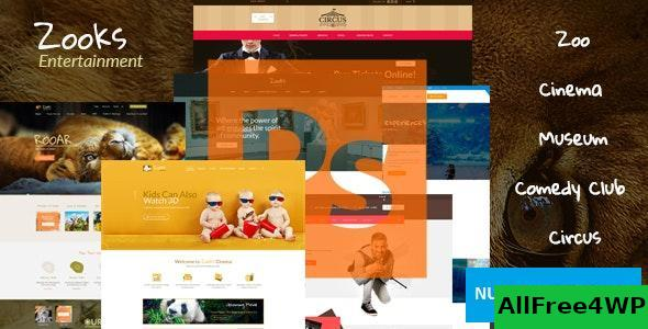 Zooks v1.0 – Zoo, Cinema, Museum, Comedy Club, Circus & Aquarium HTML5 Template