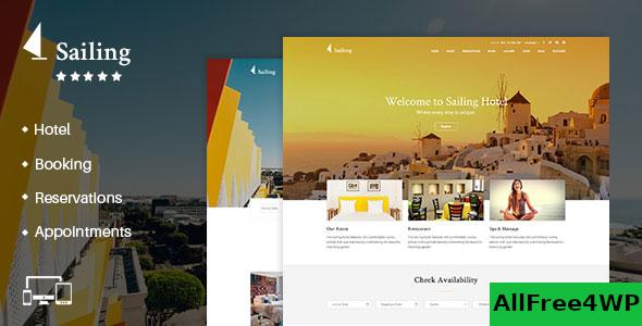 Nulled Sailing v4.1.4 – Hotel WordPress Theme NULLED