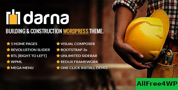 Nulled Darna v1.2.5 – Building & Construction WordPress Theme NULLED