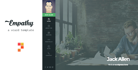 Nulled Empathy v1.4.4 – A vCard WordPress Theme NULLED