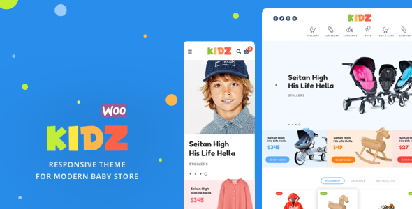 Nulled KIDZ v2.9.7 – Baby Store WooCommerce Theme NULLED