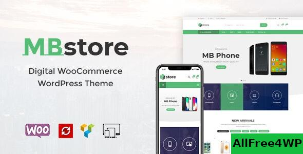 Nulled MBStore v1.8 – Digital WooCommerce WordPress Theme NULLED