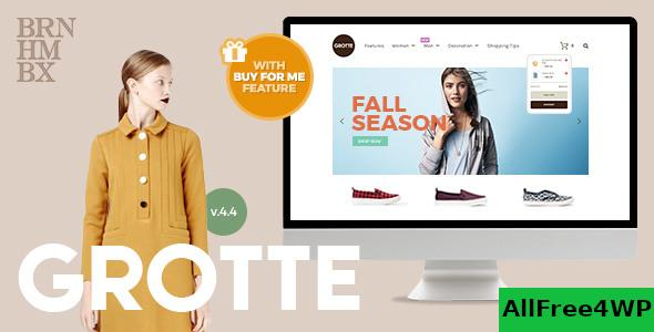 Nulled Grotte v7.1 – A Dedicated WooCommerce Theme NULLED