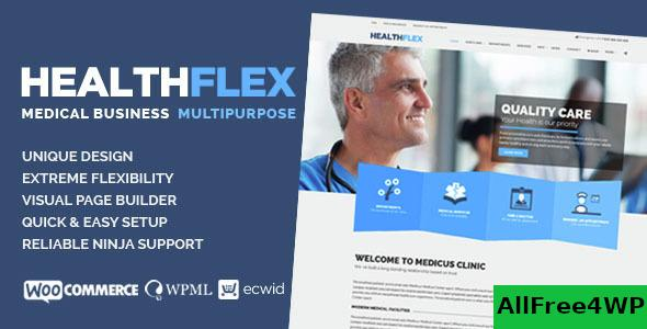 Nulled HEALTHFLEX v1.6.7 – Medical Health WordPress Theme NULLED