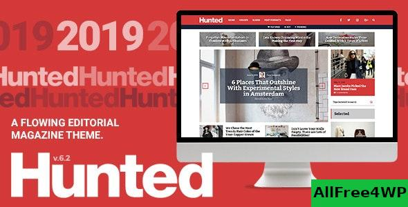 Nulled Hunted v7.1 – A Flowing Editorial Magazine Theme NULLED
