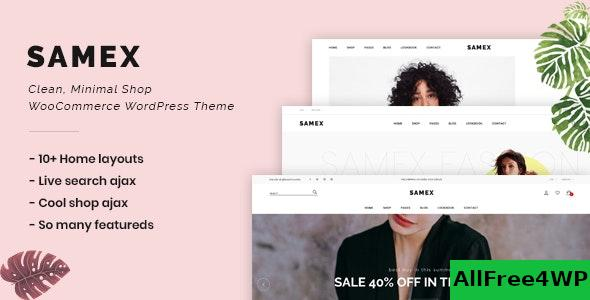 Nulled Samex v1.8 – Clean, Minimal Shop WooCommerce WordPress Theme NULLED