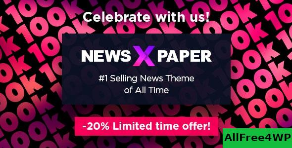 Nulled Newspaper v10.3.6.1 – WordPress News Theme NULLED