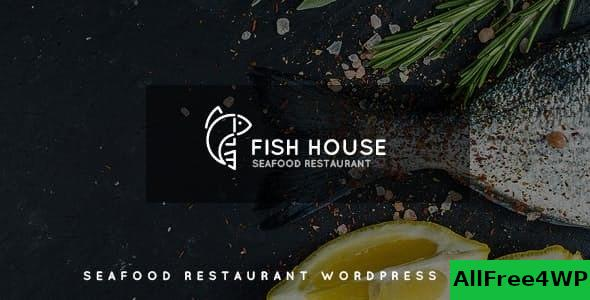 Nulled Fish House v1.2 – A Stylish Seafood Restaurant / Cafe / Bar WordPress Theme NULLED