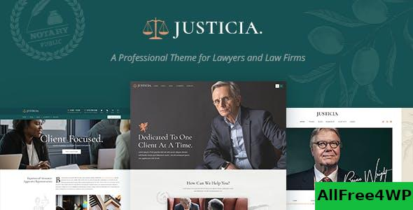 Nulled Justicia v1.3.0 – Lawyer and Law Firm Theme NULLED