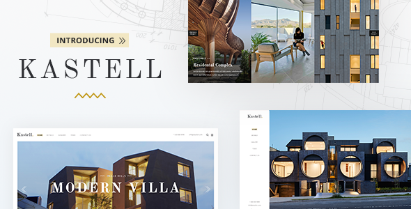 Nulled Kastell v1.6 – A Theme for Single Properties and Apartments NULLED