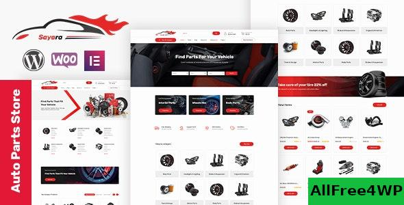 Nulled Sayara v1.0.8 – Auto Parts Store WooCommerce WordPress Theme NULLED