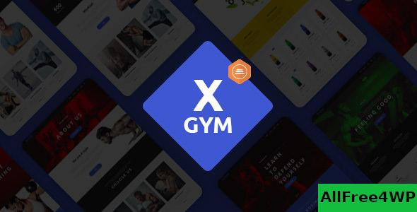 Nulled X-Gym v1.4 – Fitness WordPress Theme for Fitness Clubs NULLED
