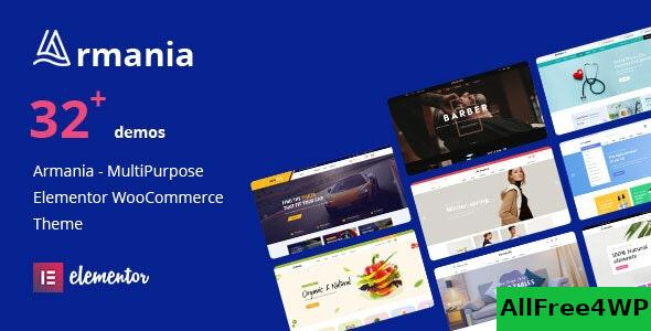 Nulled Armania v1.1.4 – Multipurpose Elementor WooCommerce Theme (RTL Supported) NULLED